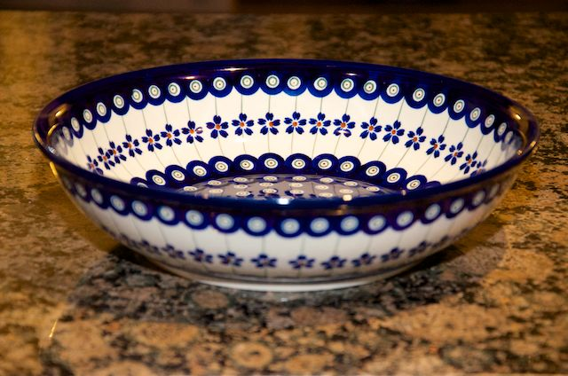 Medium Shallow Bowl 166a