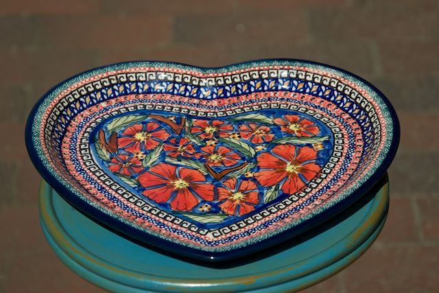 Heart Shaped Plate 150a