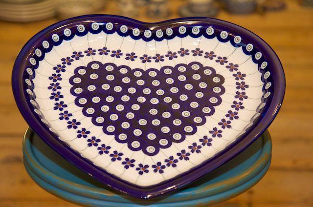 Heart Shaped Plate 166