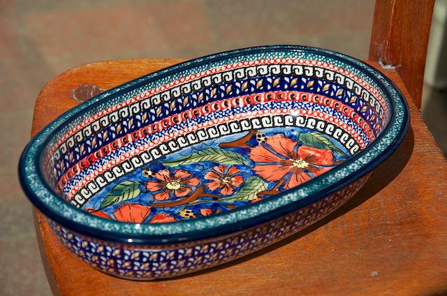 Small Oval Dish 821