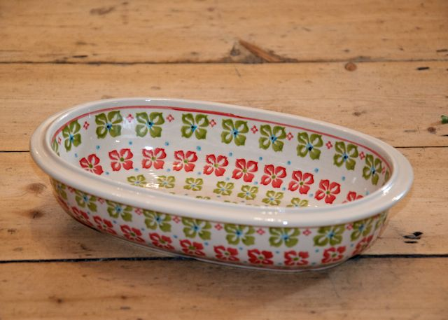 Small Oval Dish 405