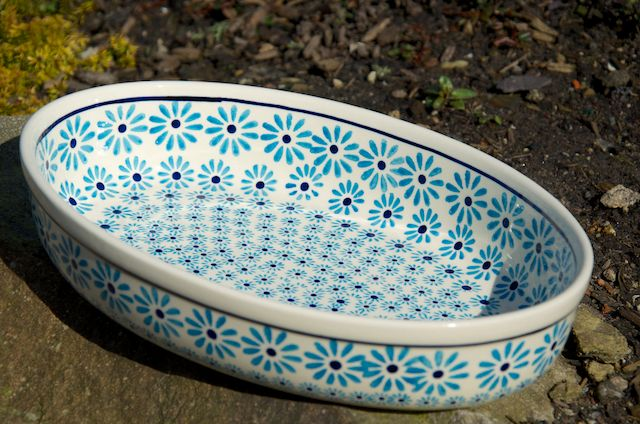 Medium Oval Dish 966