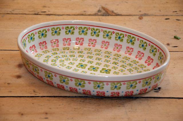 Medium Oval Dish 410
