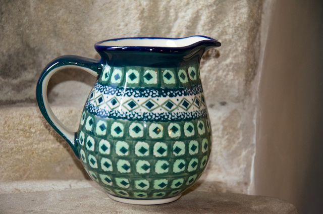 Green Diamond Pattern Small Jug