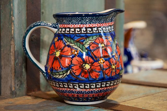 Poppy Pattern Small Jug