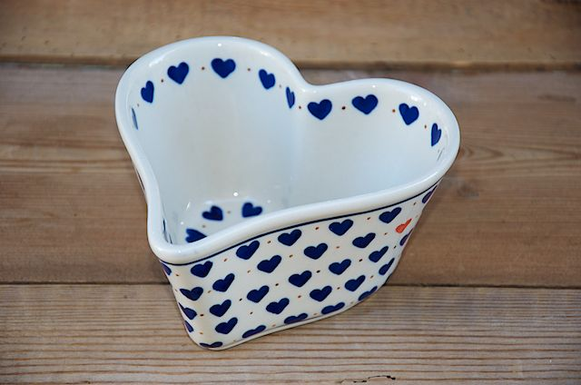 Deep Sided Heart Shaped Bowl 771