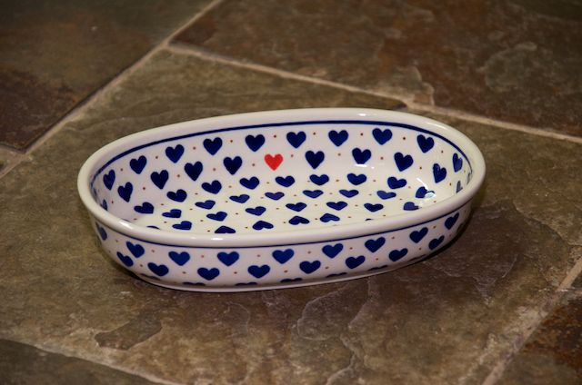 Small Oval Dish A739