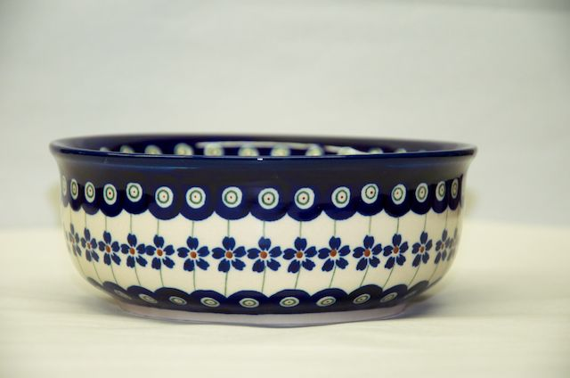 Straight Sided Bowl 166
