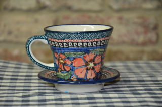 Cup and Saucer ad150art