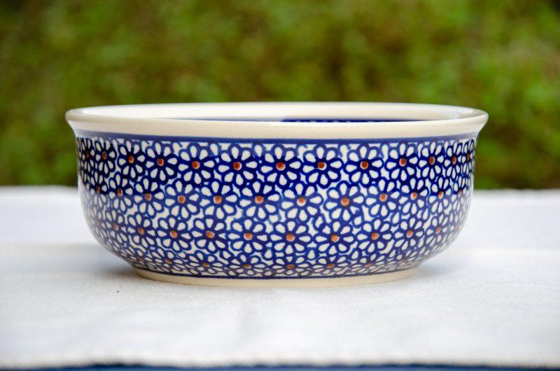 Blue Daisy Soup Bowl