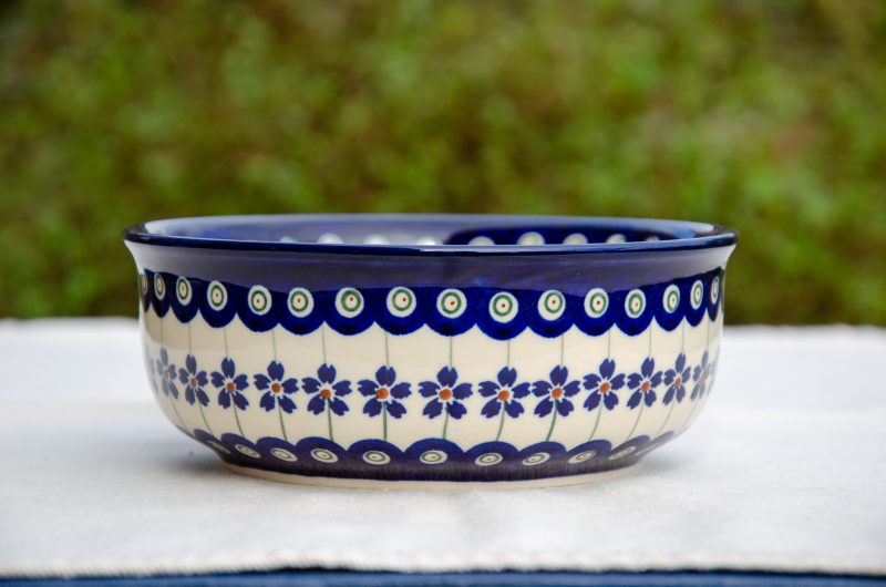 Floral Peacock Soup Bowl