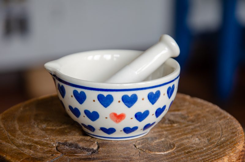 Small Hearts Pestle and Mortar