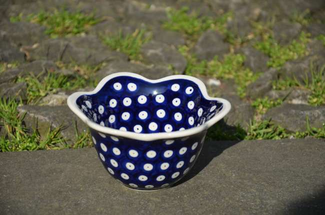 Bowl Frilled Edge 456