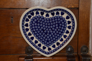 Heart Shaped Plate 467