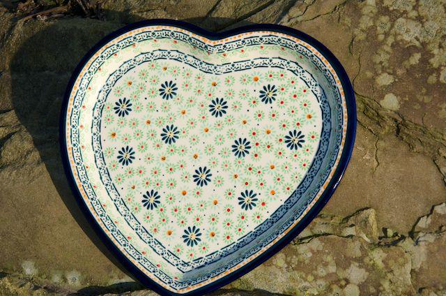 Heart Shaped Plate 120du