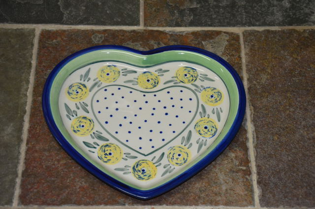 Heart Shaped Plate 441