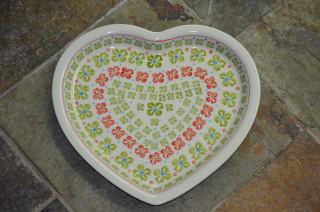 Heart Shaped Plate 978