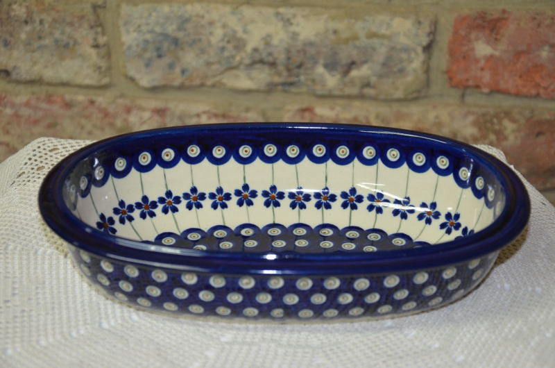 Small Oval Dish 416