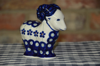 Sheep Ornament 166