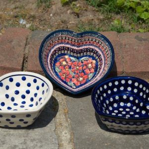 Small Heart Shaped Bowls