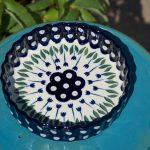 Flower Spot Small Flan Dish