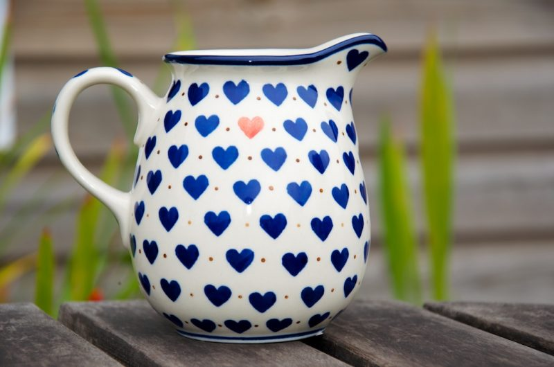 Small Hearts Pattern Small Jug