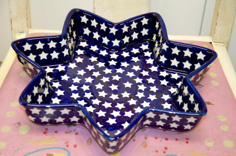 Star Shaped Serving Dish
