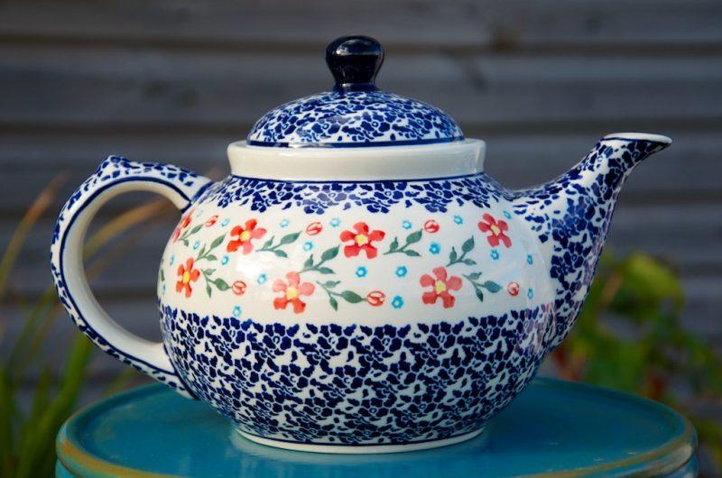 Four Mug Teapots