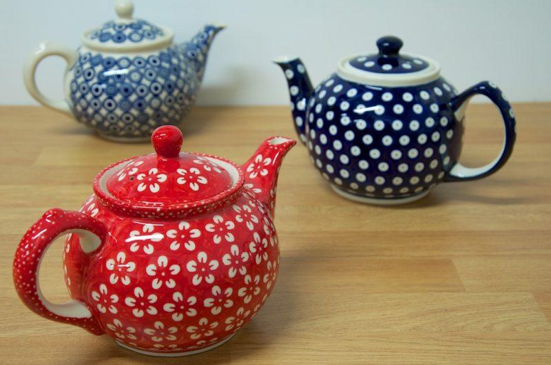 Teapots two to four mug size