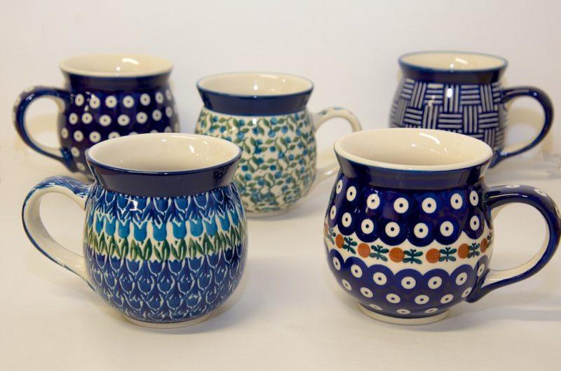 Large Round Mugs