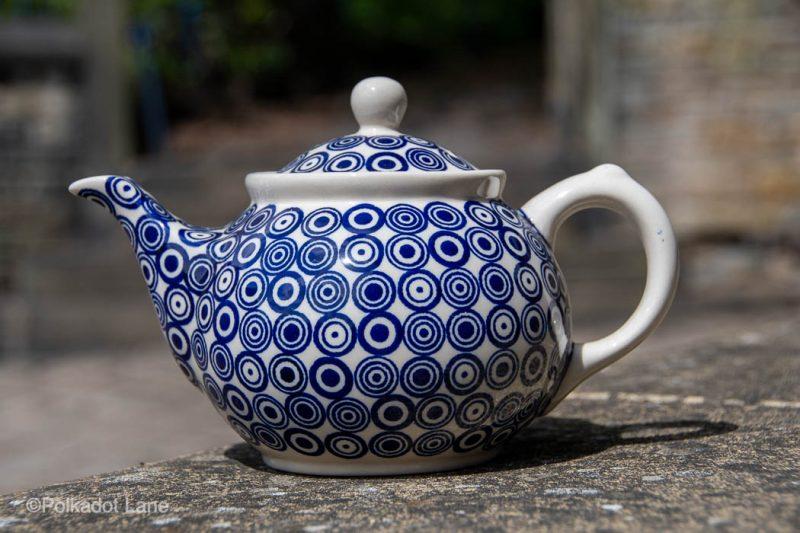 Retro Spot Teapot for two by Ceramika Manufaktura