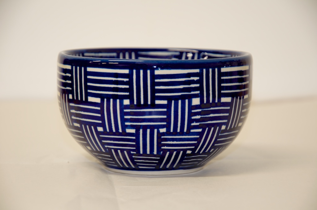 Poilish Pottery Weave Pattern Cereal Bowl