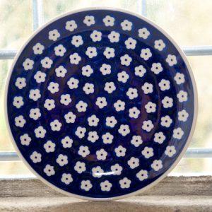 Polish Pottery Flower Spot Side Plate