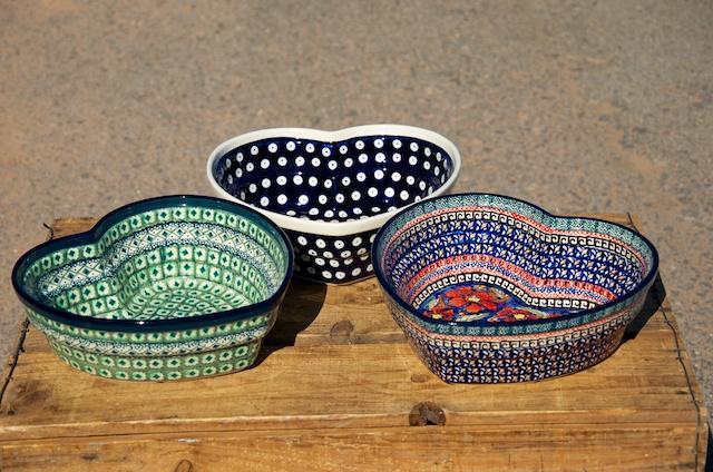 Heart Shaped Dishes medium size