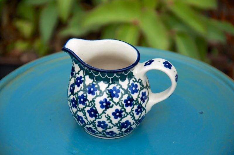 Ceramika Artystyczna Trellis Pattern Creamer