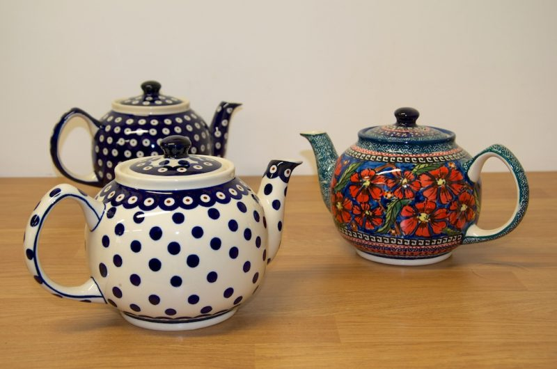 Teapots Medium Size for Three or Four People
