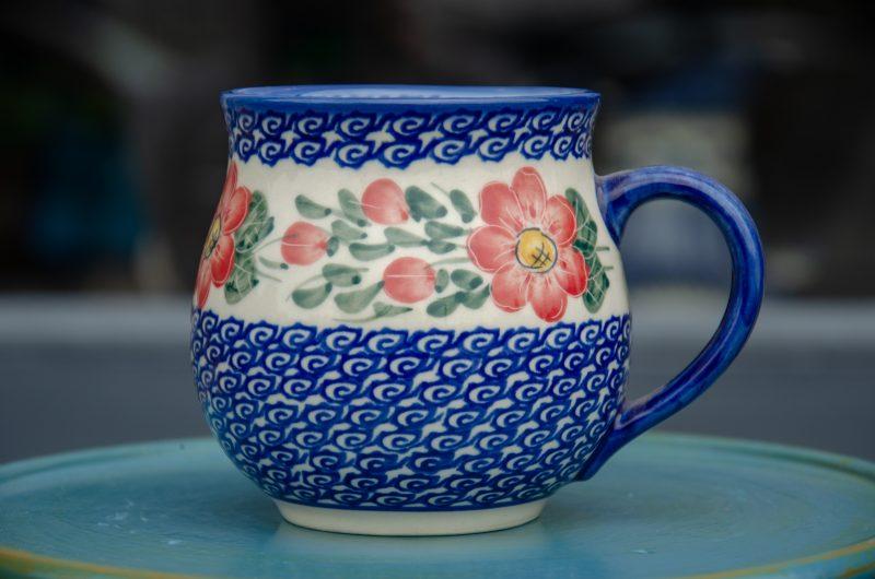 Ceramika Andy Polish Pottery Large Round Mug