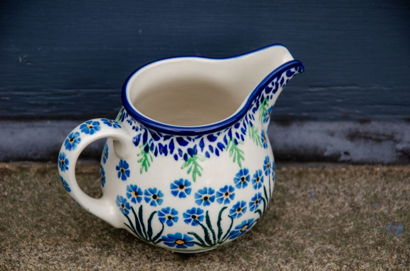 Large Creamer For Get Me Not Pattern