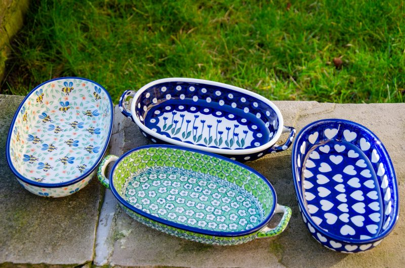 Small Oval Shaped Dishes
