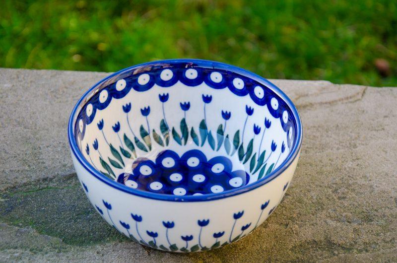Flower Spot Cereal Bowl by Ceramika Artystyczna