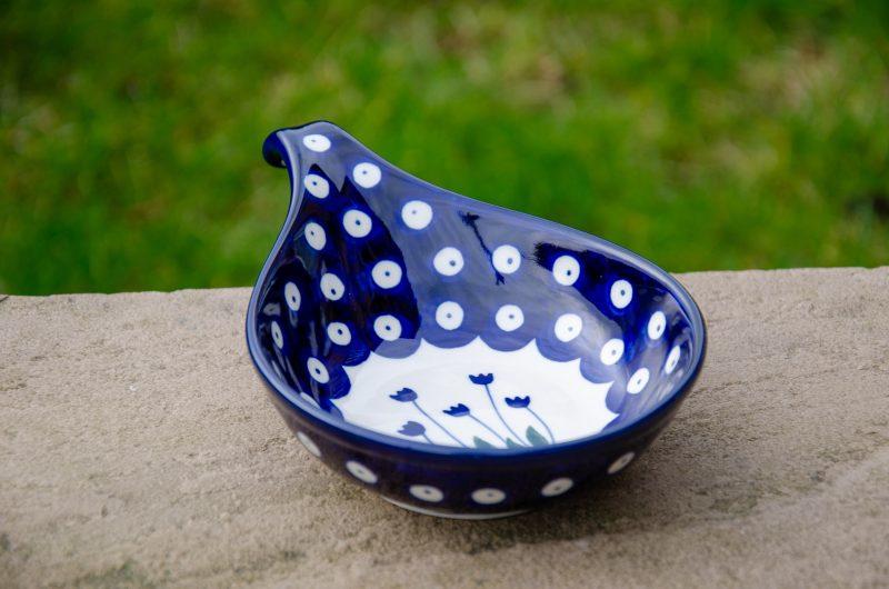 Flower Spot Nibble Dish by Ceramika Artystyczna