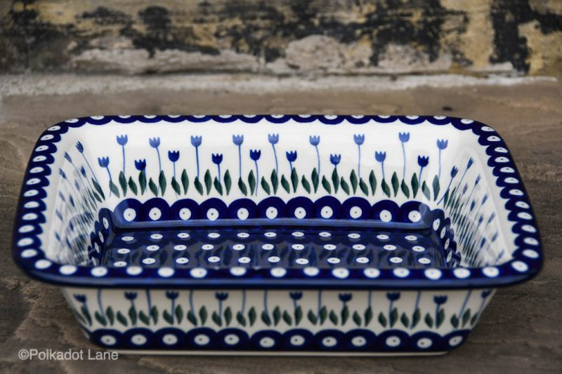 Flower Spot Medium Size Oven Dish by Ceramika Artystyczna