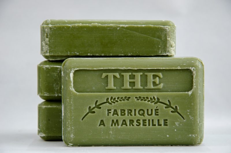 Savon De Marseille Green Tea Soap 125g bars