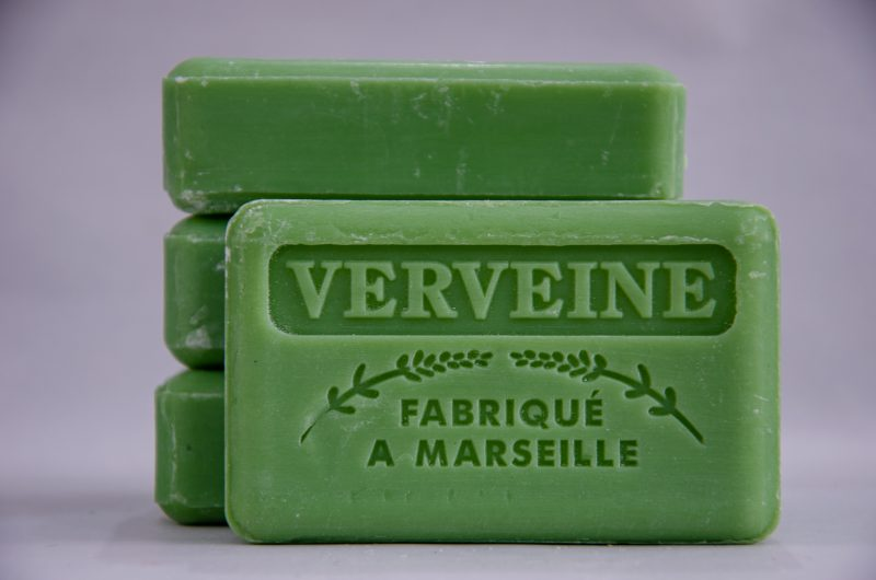 Savon de Marseille Verveine French soap from Polkadot Lane UK.