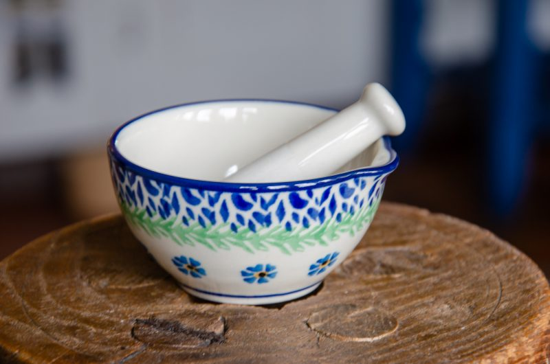 Forget Me Not Small Pestle and Mortar