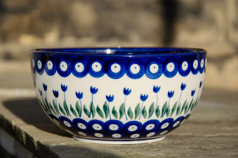 Flower Spot Large Cereal Bowl by Ceramika Artystyczna