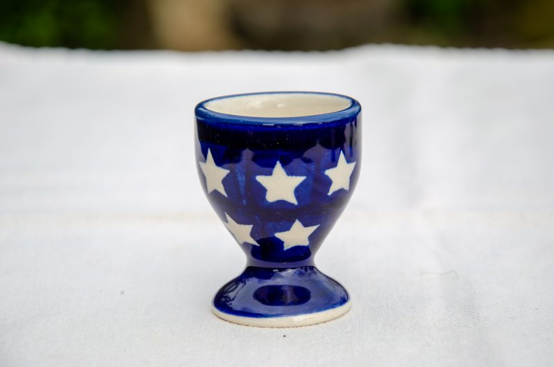Polish Pottery Star Egg Cup by