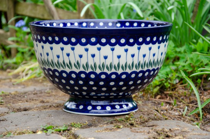 Flower Spot Large Bowl by Ceramika Artystyczna