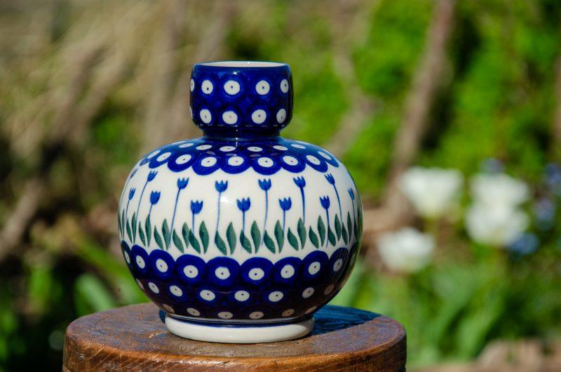 Flower Spot Vase by Ceramika Artystyczna