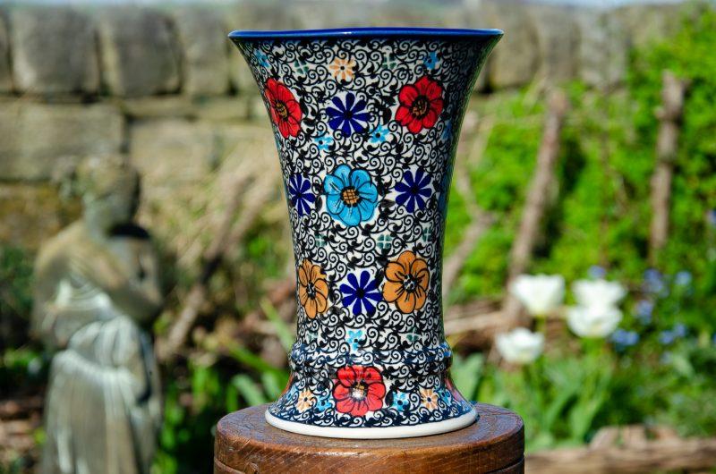 Ceramika Andy Vase Unikat Pattern